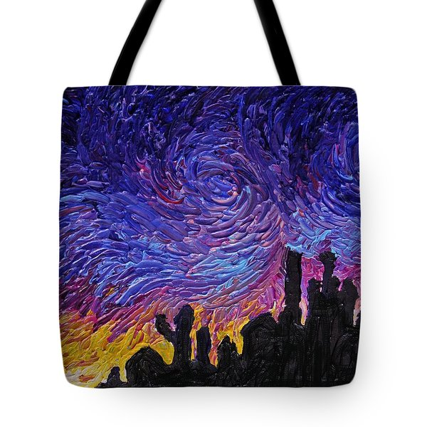 Color Of The Sky Part1 Tote Bag
