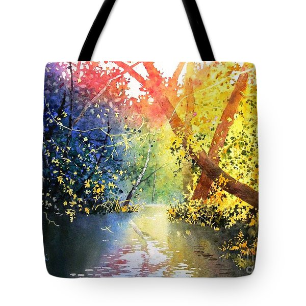 Color Of Trees Tote Bag