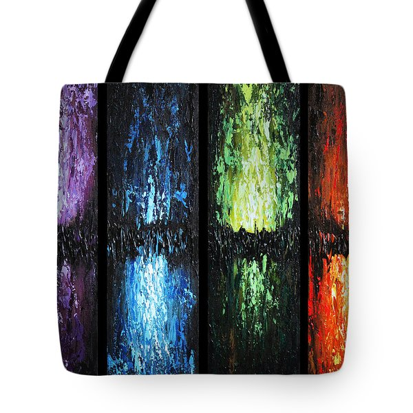 Color Panels 1 Tote Bag
