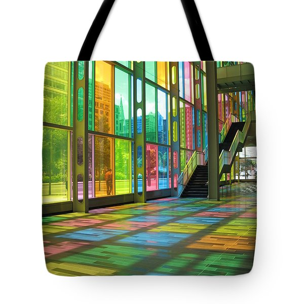 Color Reflection Tote Bag