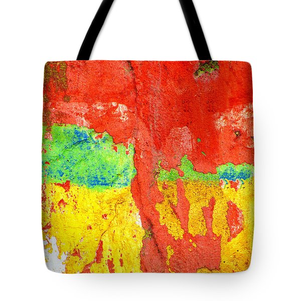 Color Splash  Tote Bag