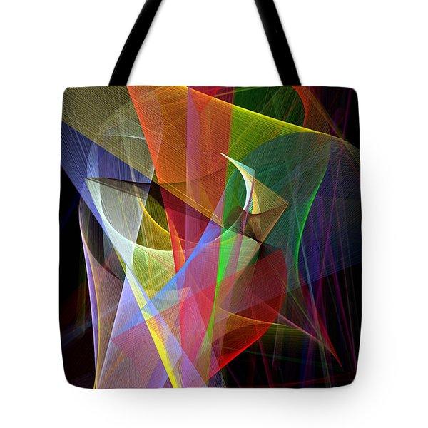Color Symphony Tote Bag by Rafael Salazar