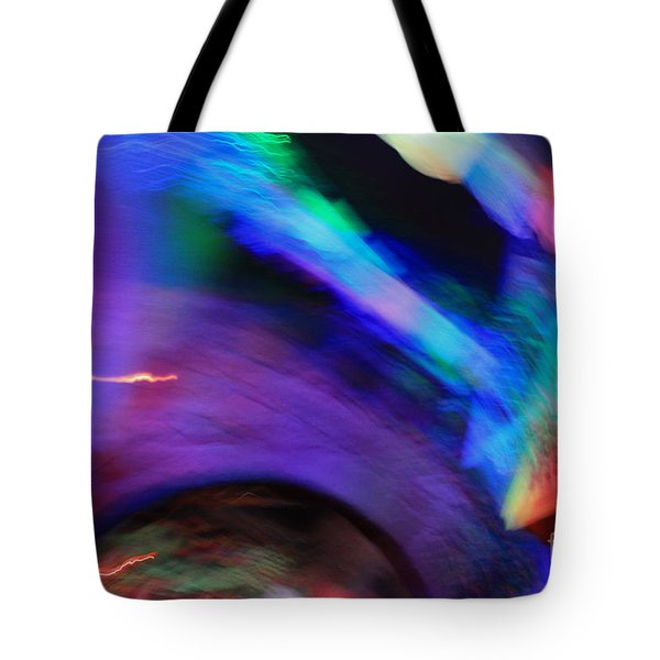 Color Tunnel  Tote Bag by Chris Thomas