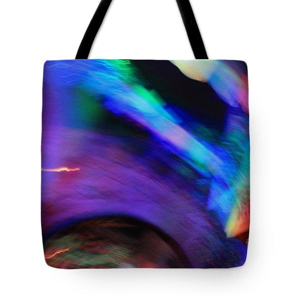 Color Tunnel  Tote Bag