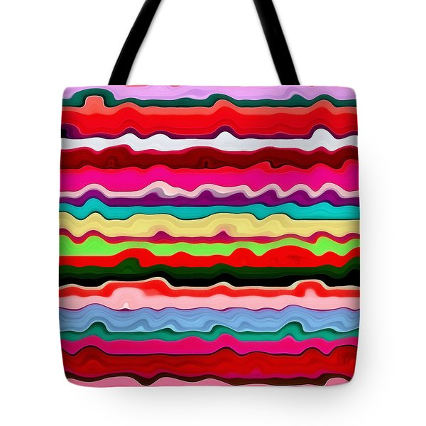 Color Waves No. 1 Tote Bag