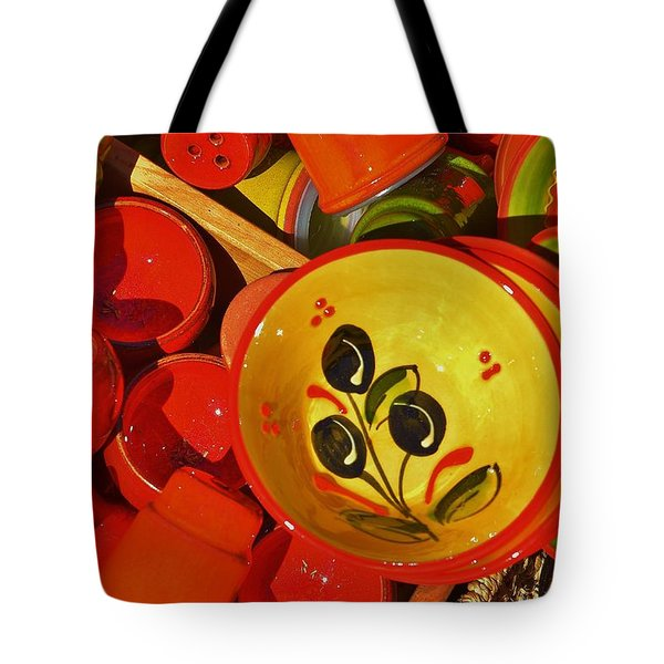 Color Your Life 5 Tote Bag by Dany Lison
