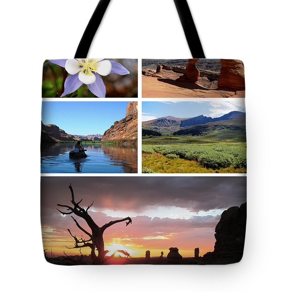Colorado Utah Calendar 2018 Tote Bag
