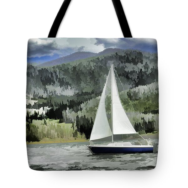 Colorado By Wind Tote Bag