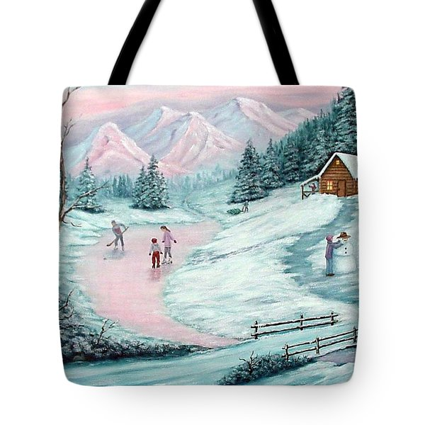 Colorado Christmas Tote Bag