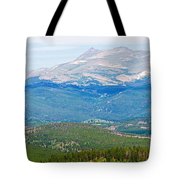 Colorado Continental Divide Panorama Hdr Crop Tote Bag by James BO  Insogna