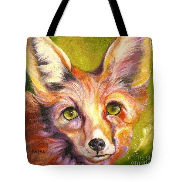 Colorado Fox Tote Bag