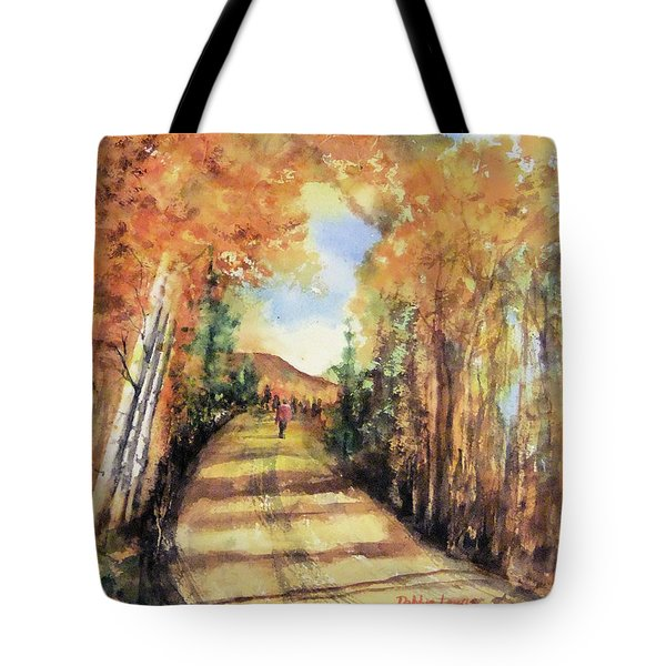 Colorado In September Tote Bag