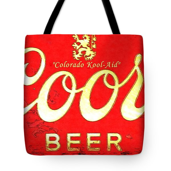 Colorado Kool-aid Tote Bag by Barbara Chichester