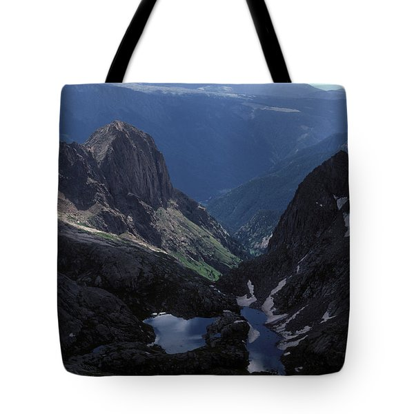 Colorado Mountains Tote Bag