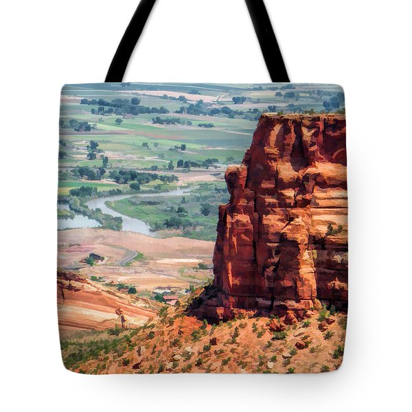 Colorado National Monument Grand Junction View Tote Bag