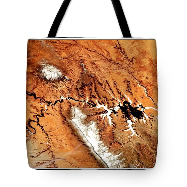Colorado Plateau Nasa Tote Bag