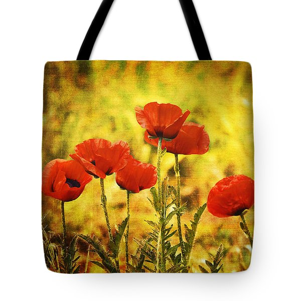 Tote Bag featuring the photograph Colorado Poppies by Tammy Wetzel