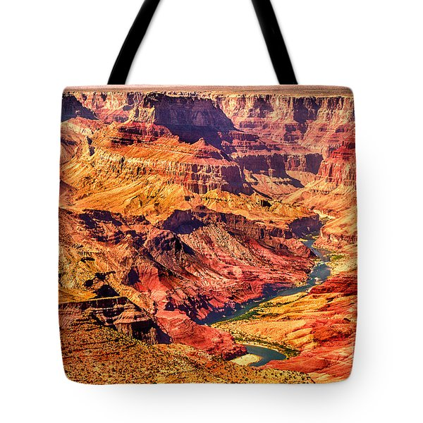 Colorado River 1 Mi Below 100 Miles To Vermillion Cliffs Utah Tote Bag