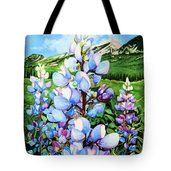 Colorado Summer Blues Tote Bag