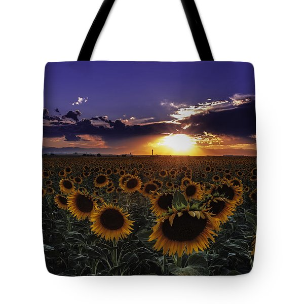 Colorado Sunflowers Tote Bag