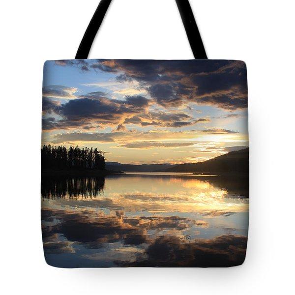 Colorado Sunset Tote Bag by Chris Thomas