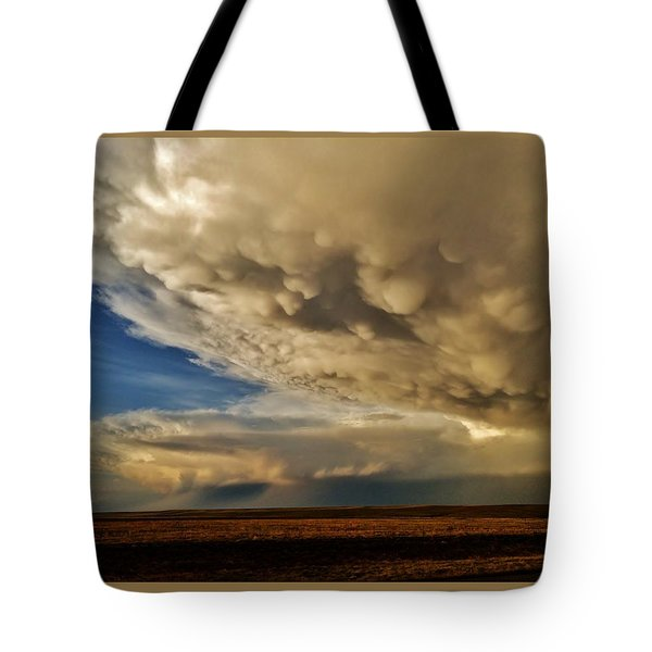Tote Bag featuring the photograph Colorado Supercells by Ed Sweeney