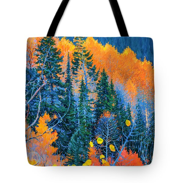 Colorado Trees At Fall Tote Bag