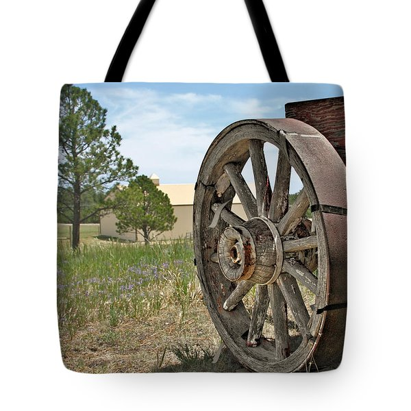 Colorado - Where The Columbines Grow Tote Bag by Christine Till
