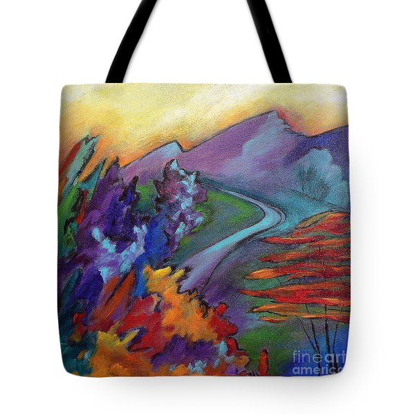 Colordance Tote Bag by Elizabeth Fontaine-Barr