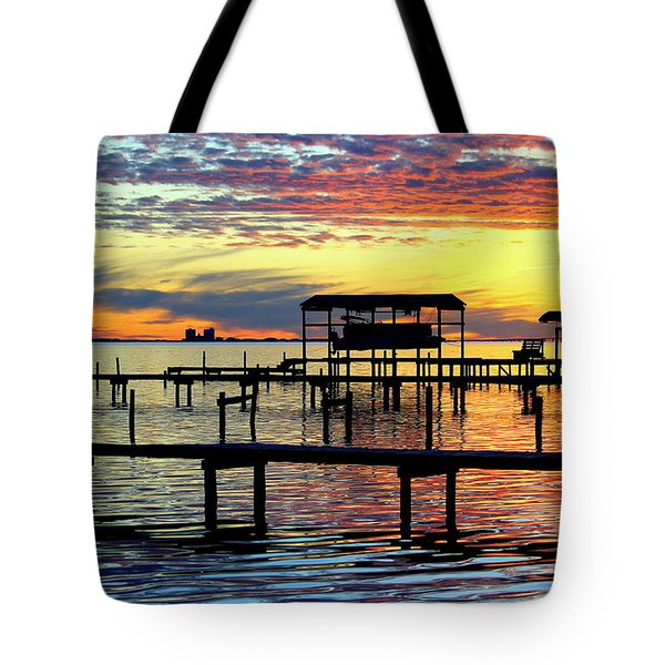 Tote Bag featuring the photograph Colored Glass by Faith Williams