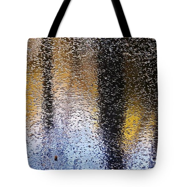 Colored Ice Tote Bag