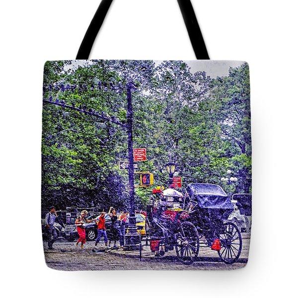 Colored Memories - Central Park Tote Bag by Madeline Ellis