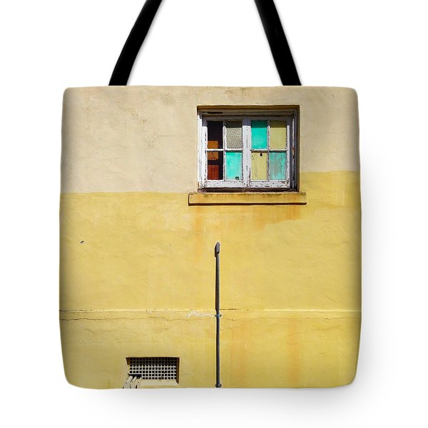 Colored Window Tote Bag