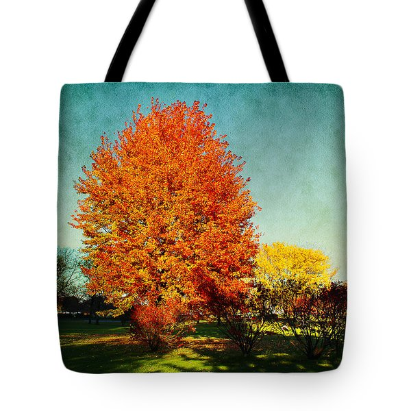Colorful Autumn Tote Bag