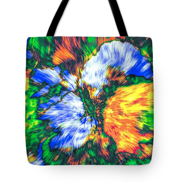 Tote Bag featuring the photograph Colorful Bouquet by Kellice Swaggerty