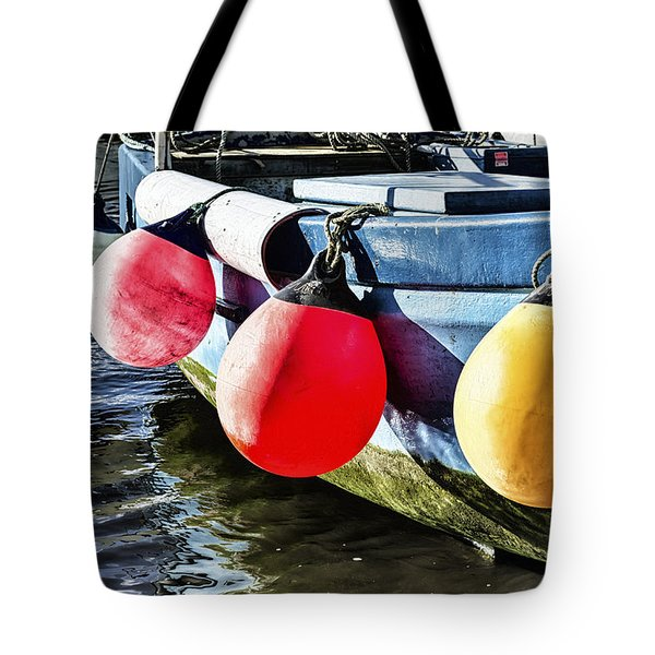 Colorful At Mousehole Tote Bag