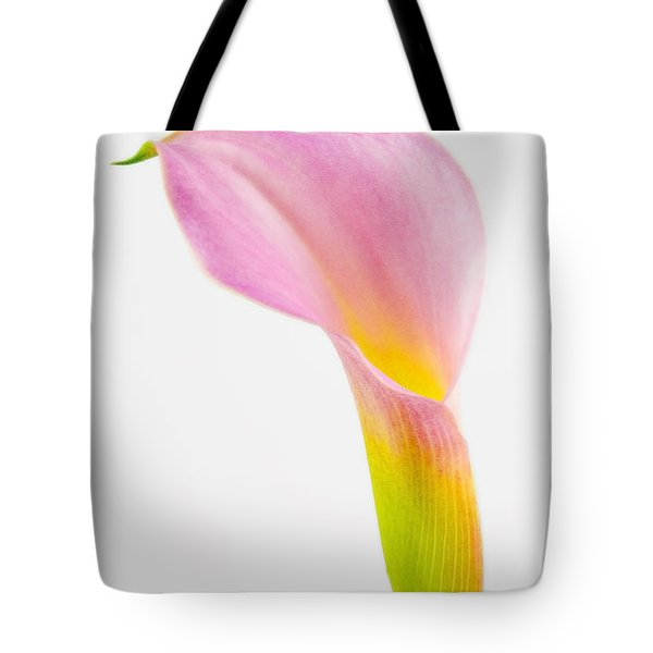 Tote Bag featuring the photograph Colorful Calla Lily Flower by Richard J Thompson