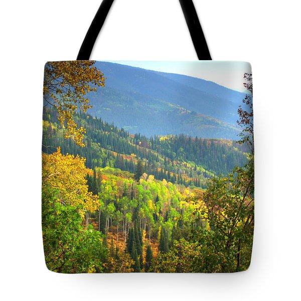 Colorful Colorado Tote Bag by Brian Harig