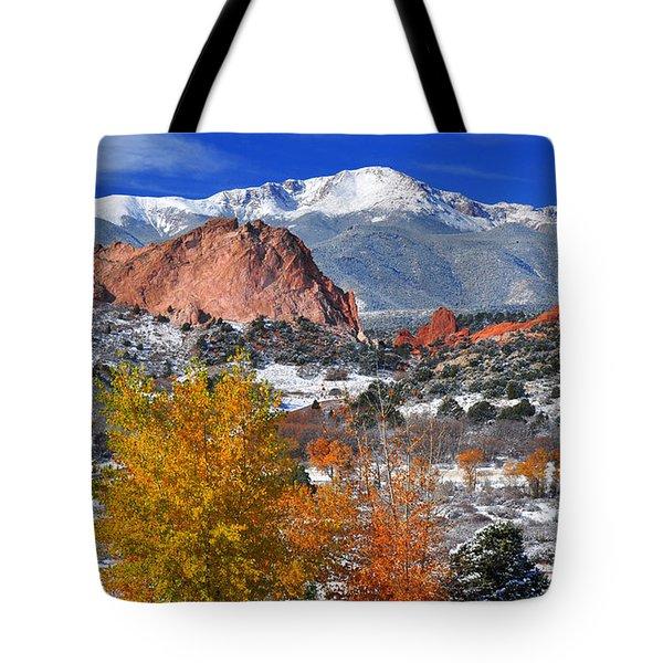 Colorful Colorado Tote Bag by John Hoffman