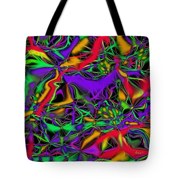 Colorful Connections Tote Bag
