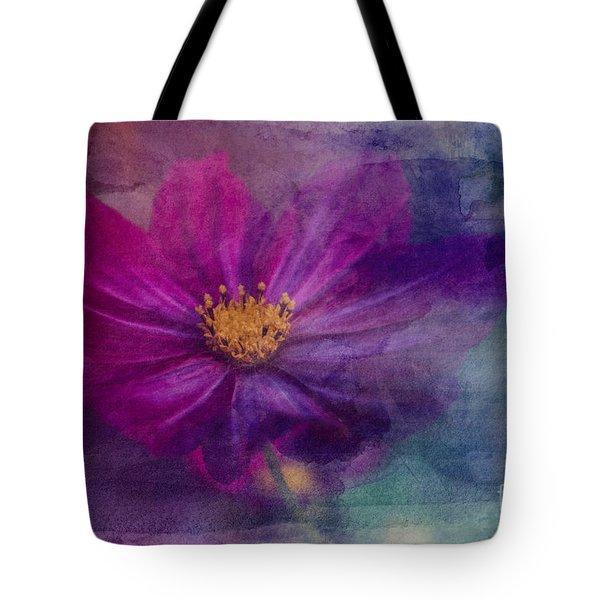 Colorful Cosmos Tote Bag