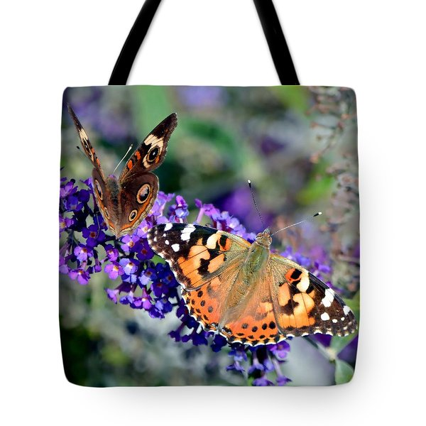 Colorful Cousins Tote Bag by Deena Stoddard