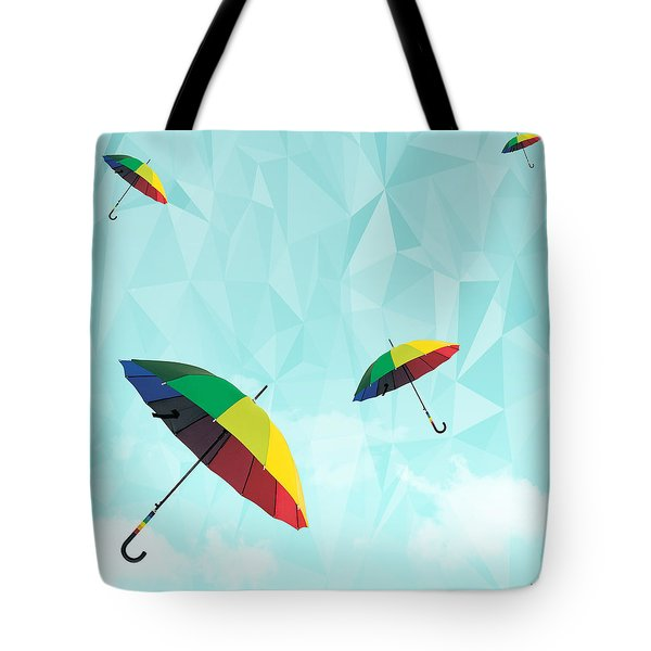 Colorful Day Tote Bag by Mark Ashkenazi