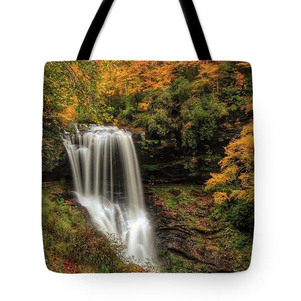 Colorful Dry Falls Tote Bag