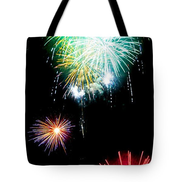 Colorful Explosions No3 Tote Bag by Weston Westmoreland