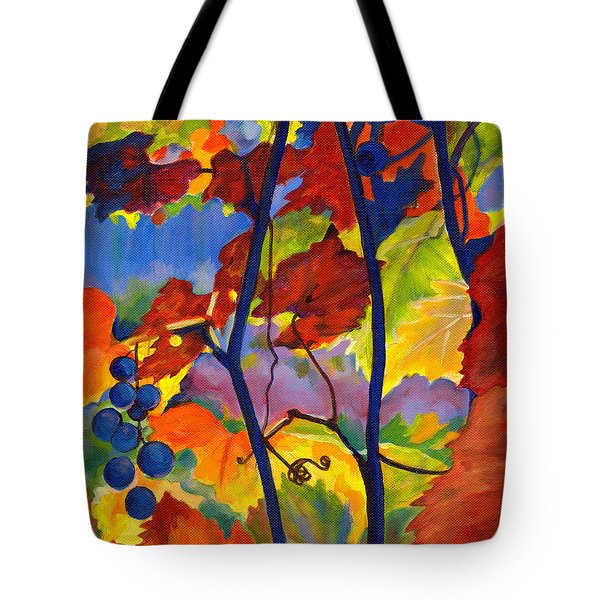 October Colors Tote Bag