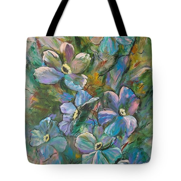 Colorful Floral Tote Bag
