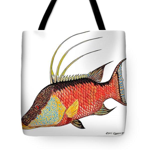 Colorful Hogfish Tote Bag