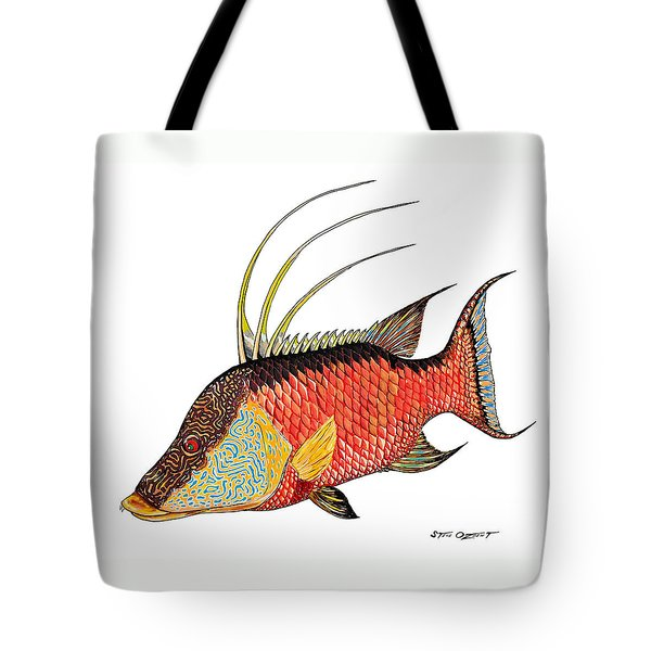 Colorful Hogfish Tote Bag