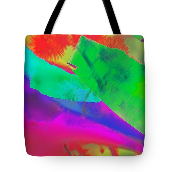 Colorful Tote Bag by Kathleen Struckle